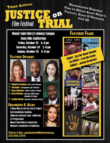 Justice on Trial Film Festival Who Pays
